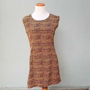Freebird Polka Dot Retro 70's Style Shift Dress
